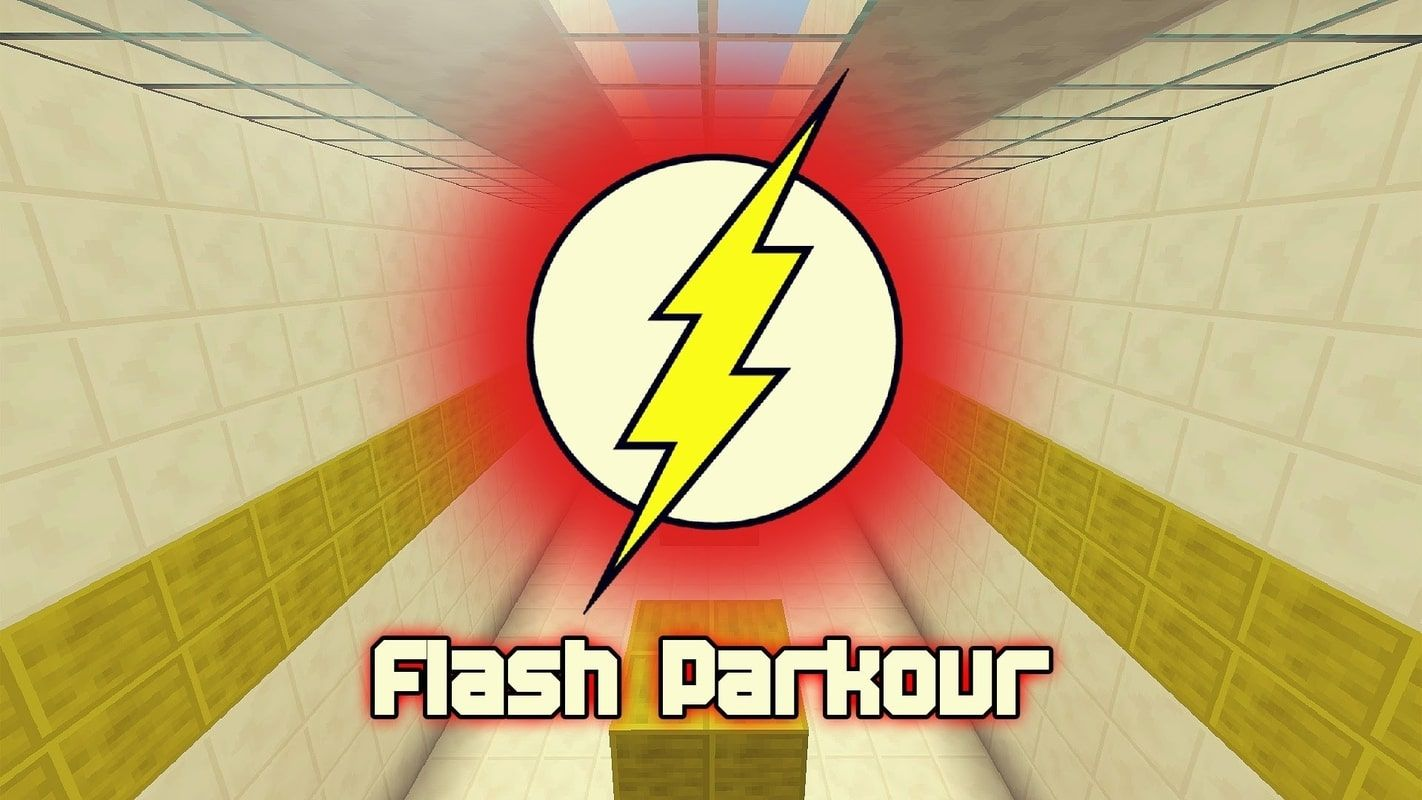 A poster of the map using the same logo as Flash, the DC Comics superhero
