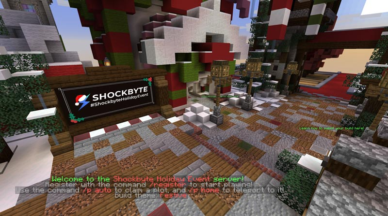 Shockbyte's 2020 Minecraft Server Christmas Event